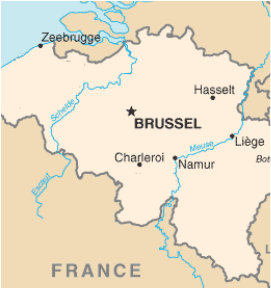 the two major rivers in belgium are the schelde also known as the escaut and the meuse also known as the maas both of the rivers start in france an flow